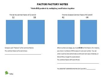 Common Factors: Factor Factory