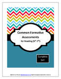 Common Formative Assessments for Reading