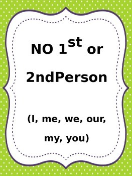 Common Grammar Rules Printables