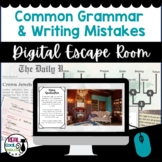 Common Grammar and Writing Mistakes Digital Escape Room