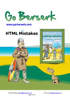 Common HTML Code Mistakes