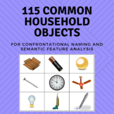 Common Household Objects - Confrontational Naming, Semanti