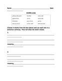 Common Idioms Quiz L4.5b