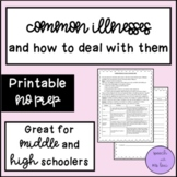 Common Illnesses and How to Deal with Them