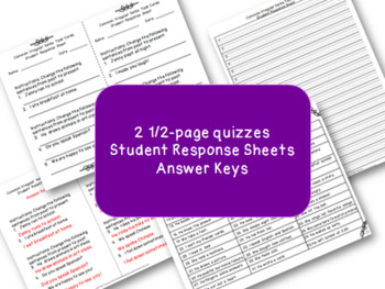 Common Irregular Verb Simple Past Task Cards and Quiz