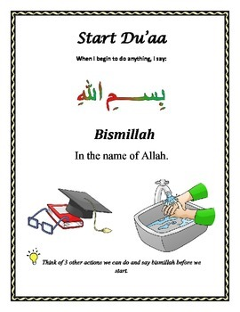 Common Islamic Duaa for our Daily Life