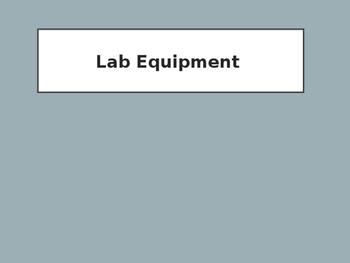 Common Lab Equipment PowerPoint