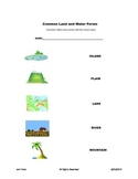 Common Land Form Assessment