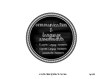 Common Language Skills for ABA, Autism, Special Education