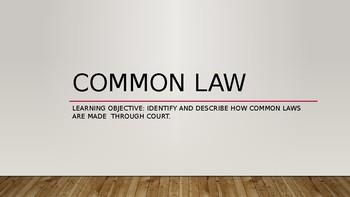Common Law in Australia