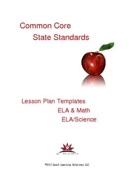 Common Lesson Plan Templates