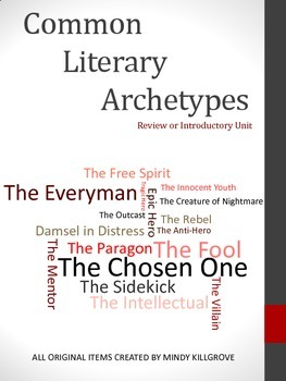 Common Literary Archetypes: FREE PRODUCT