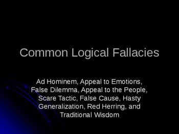 Common Logical Fallacies
