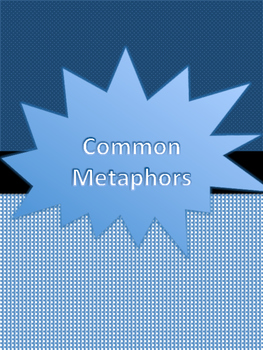 Common Metaphor List Freebie