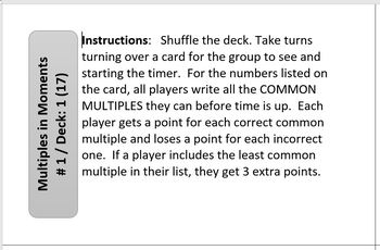 Common Multiples Game for Groups