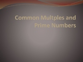 Common Multiples and Common Factors Google Slides