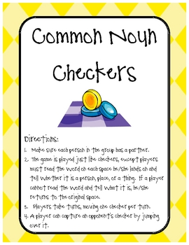 Common Noun Checkers Center