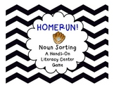 Common Noun Sorting Literacy Center Game