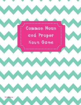 Common Noun and Plural Noun Game Common Core Game