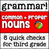 {Temporary Freebie!} Common Noun and Proper Noun Grammar A
