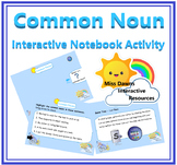 Interactive Common Nouns Activity for IWB