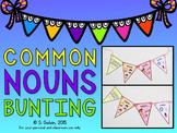 Common Nouns Bunting Craftivity