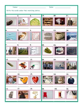 Common Nouns Fifth Grade Worksheet