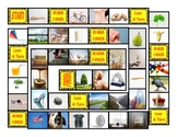 Common Nouns First Grade Board Game