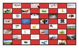 Common Nouns First Grade Checkerboard Game