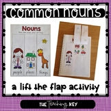 Common Nouns - People, Places and Things (A Lift the Flap Sorting Activity)
