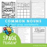 Common Nouns {Review Pages}