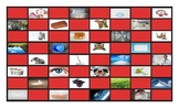 Common Nouns Second Grade Checkerboard Game