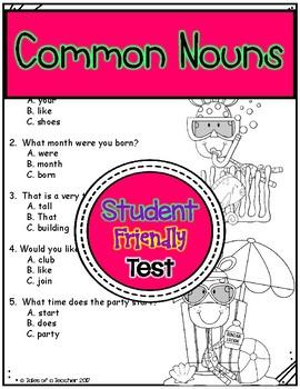 Common Nouns Test