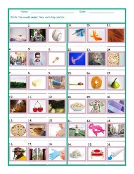 Common Nouns Third Grade Worksheet
