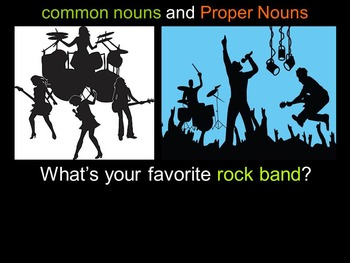 Common Nouns and Proper Nouns PowerPoint