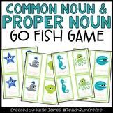 Common Nouns and Proper Nouns Go Fish game