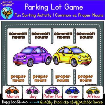 Common Nouns and Proper Nouns Sorting Activity