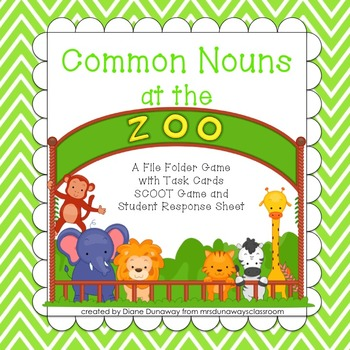 Common Nouns at the Zoo
