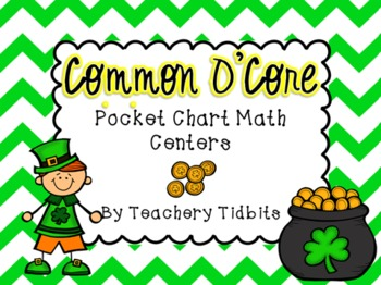 Common O'Core Pocket Chart Math Centers