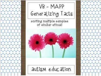 VB - MAPP Generalizing Tacts