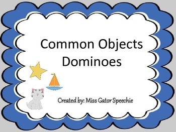 Common Objects Dominoes