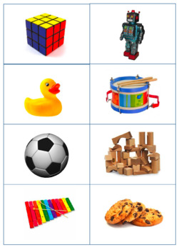 Common Objects Flash Cards AND MORE!