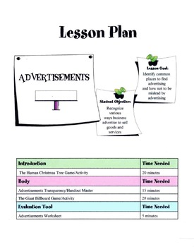 Common Places To Find Advertisements Lesson
