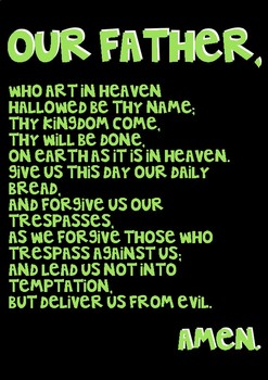 Common Prayer Posters