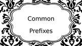 Common Prefix Sufix Poster