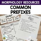 Common Prefixes Morphology Orton-Gillingham Resources | Vi