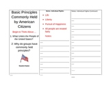 Common Principles of Government  Student Packet
