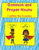 Common & Proper Noun Foldable and Activites