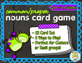 Common & Proper Nouns Game Set