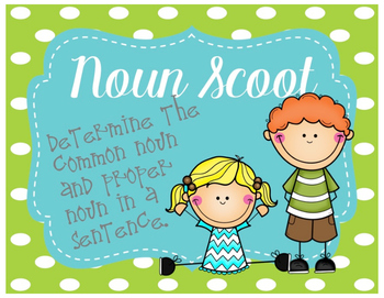 Common & Proper Noun Scoot